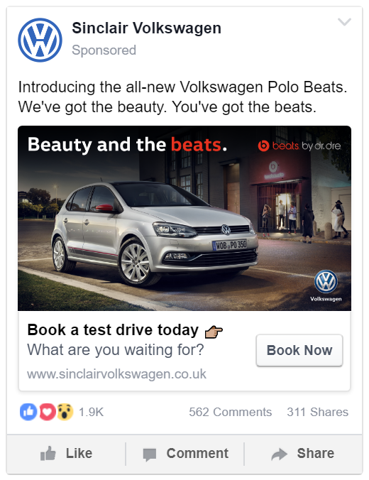 Beauty and the beats | Volkswagen Advertising Campaign