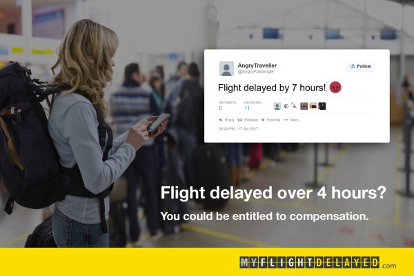 MyFlightsDelayed Display Ad