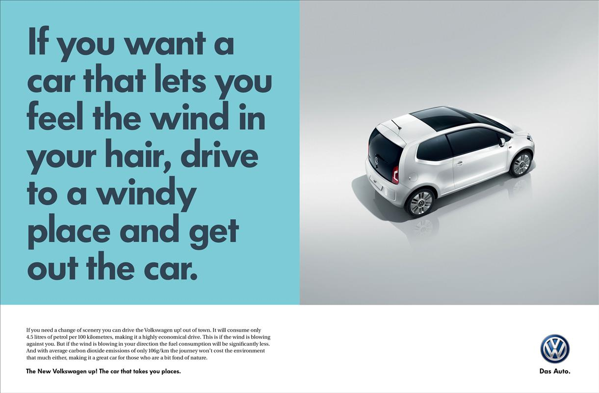 Volkswagen Advertising Copywriting