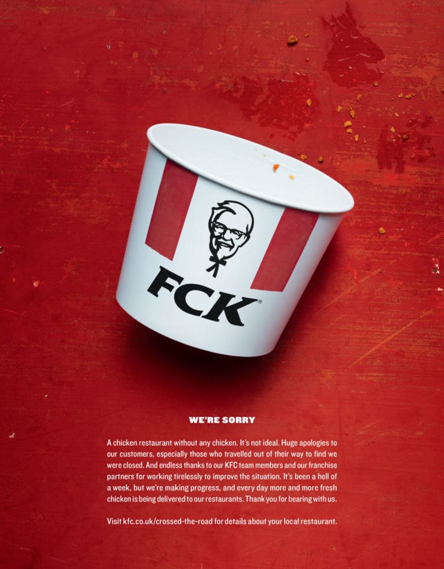 KFC Advertising Copywriting
