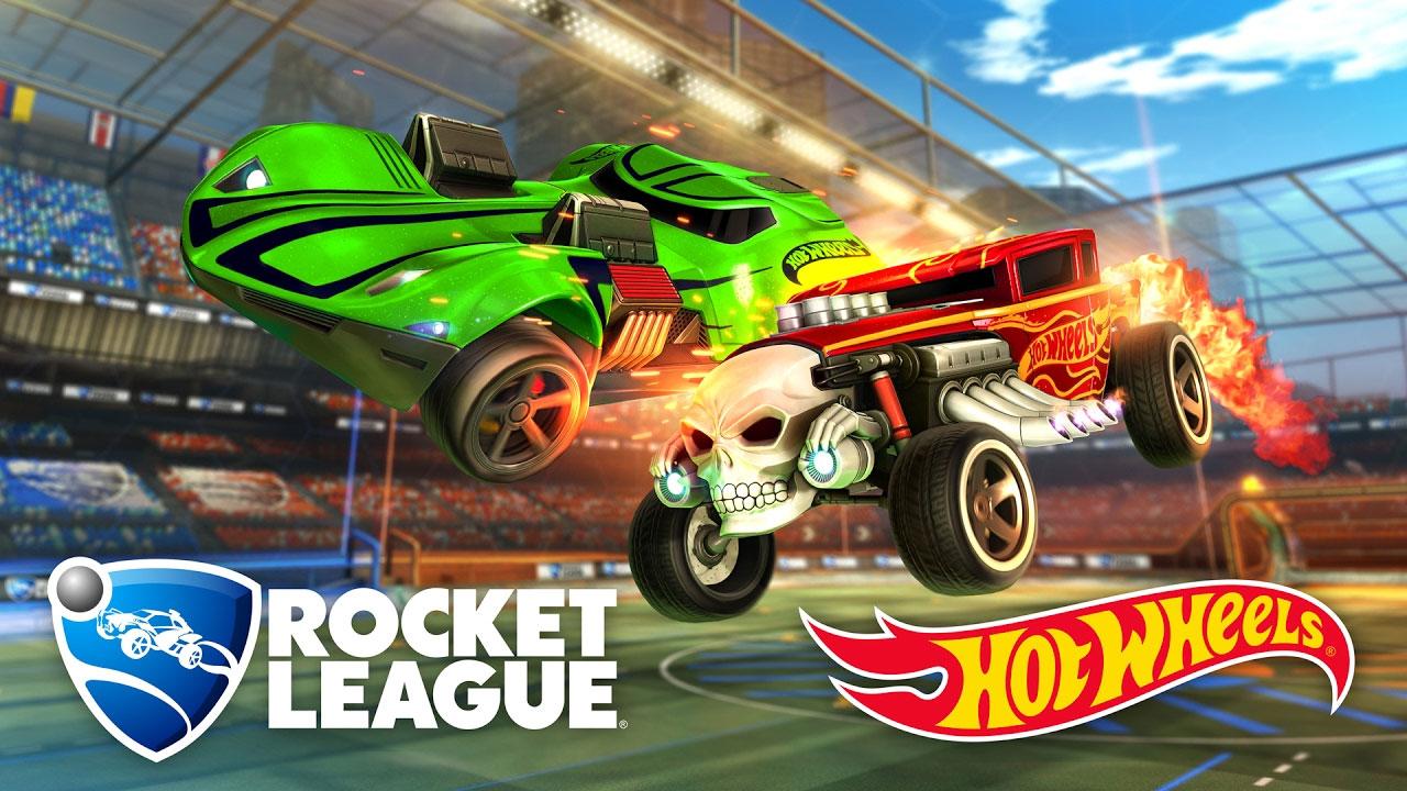 Rocket League Hot Wheels Vehicles